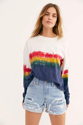 Daydreamer Rainbow Wash Tee by at Free People