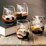 Cathy's Concepts Cathys concepts 4-pc. Skull & Crossbones Stemless Wine Glass Set