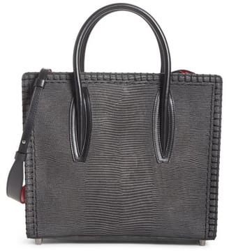 Christian Louboutin Medium Paloma Embossed Leather Satchel