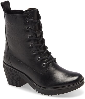 Fly London Webe Lace-Up Boot