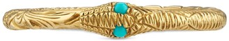 Gucci Ouroboros ring in gold