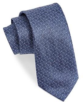 John Varvatos Filmore Dotted Geo Silk Classic Tie