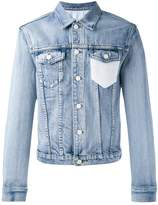 3.1 Phillip Lim Crochet-pocket denim jacket
