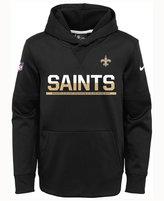 Nike Kids' New Orleans Saints Circuit PO Hoodie