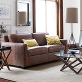"west elm Henry® Leather Sofa (76"")"