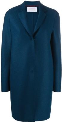Harris Wharf London Single-Breasted Mid-Length Coat