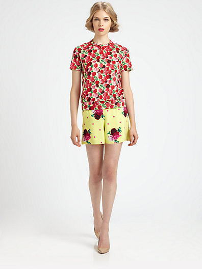 Marc Jacobs Floral Sweater