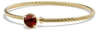 David Yurman Châtelaine Bracelet With Garnet In 18K Gold