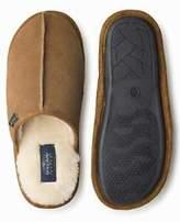 Tan Calfskin Mule Slippers