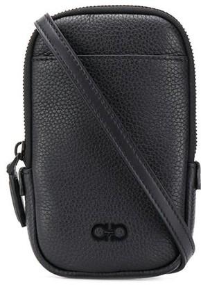 Salvatore Ferragamo Logo Detail Mini Messenger Bag