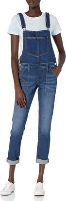 True Religion Women's Denim Slim fit Overalls