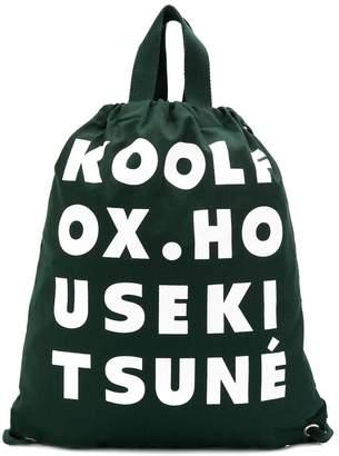 MAISON KITSUNÉ Kool Fox tote bag