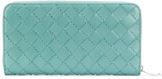 Bottega Veneta Continental leather zip wallet