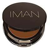 Iman Second to None Cream to Powder Foundation, Dark Skin, Earth 4