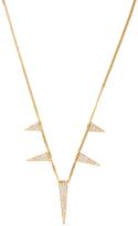Janis Savitt Women's 18K Yellow Gold & 0.68 Total Ct. Diamond Multi-Triangle Necklace