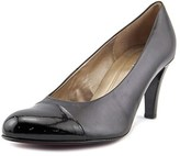 Gabor 75.211 Round Toe Leather Heels.