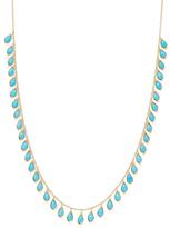 Ila Kalista 14K Yellow Gold & Turquoise Fringe Necklace