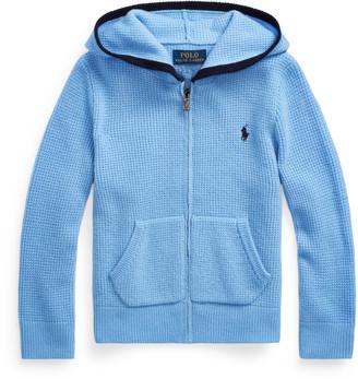 Ralph Lauren Cashmere Full-Zip Sweater