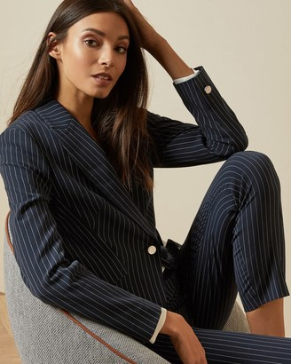 Ted Baker Striped Suit Jacket