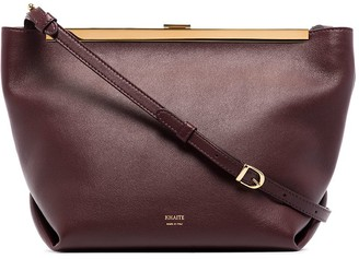 KHAITE Augusta leather crossbody bag