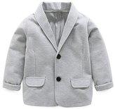 REWANGOING Baby Kid Little Boy Casual Fashion Blazers Jackets Coat Suit Outerwear