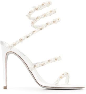 Rene Caovilla Strappy High Heel Sandals