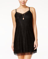 Amy Byer Juniors' Lace Slip Dress