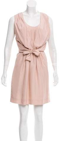 Chloé Sleeveless Silk Knee-Length Dress