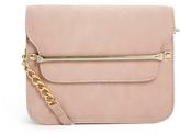 Asos Metal Bar Shoulder Bag - Pink