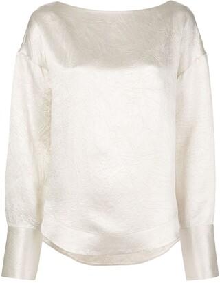 Co crease detail blouse