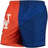 Trunks Unbranded Men's Orange/Royal New York Mets Color Block Swim