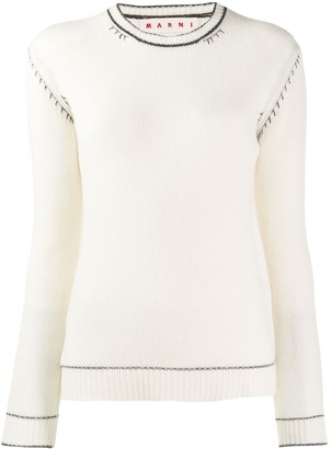 Marni slim-fit cashmere jumper