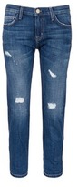 Current/Elliott 'The Boyfriend' distressed cropped jeans