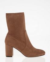Le Château Stretch Almond Toe Sock Bootie