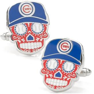 Cufflinks Inc. Chicago Cubs Sugar Skull Cuff Links