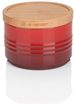 Le Creuset Small Storage Jar with Wood Lid