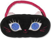 Betsey Johnson Black Cat Sleep Mask