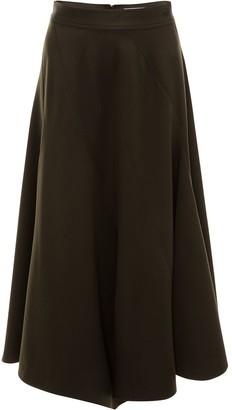 J.W.Anderson Seamed Spiral Skirt