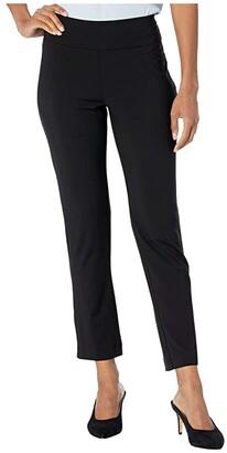 Nic+Zoe Eaze Slim Pants (Black Onyx) Women's Casual Pants