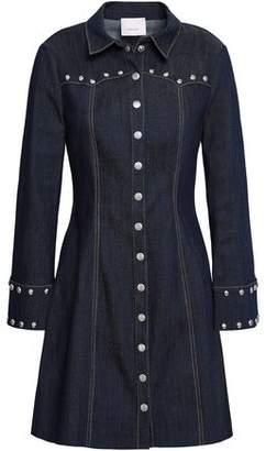 Cinq à Sept Studded Denim Mini Dress
