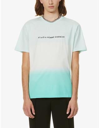 Givenchy Degrade-logo cotton-jersey T-shirt