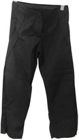 MHI Black Polyester Trousers