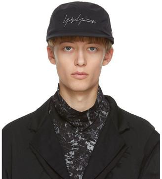 Yohji Yamamoto Black Gore-Tex Logo Hat