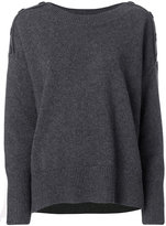Vanessa Bruno button shoulder jumper