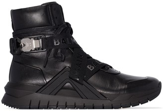 Balmain B-Troop high-top sneakers