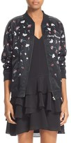 Opening Ceremony Women's Embellished Silk Bomber