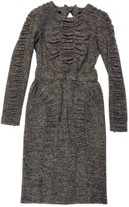 Burberry Brown Wool Dresses