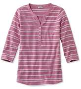 L.L. Bean Mixed-Stripe Henley
