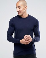 Ted Baker Cashmere Mix Crew Neck Sweater