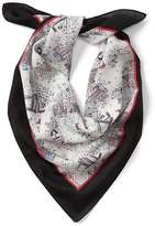 Gap NYC silk square scarf